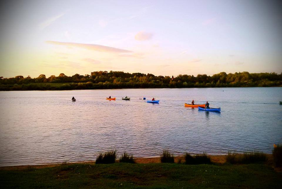 Easter at Astbury Water Sports Centre