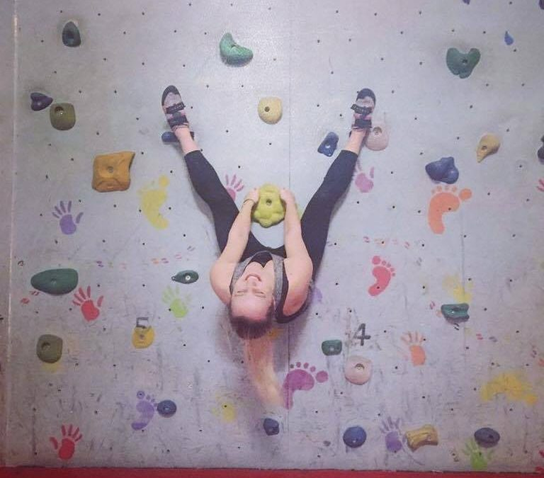 Easter at Audley Climbing Centre