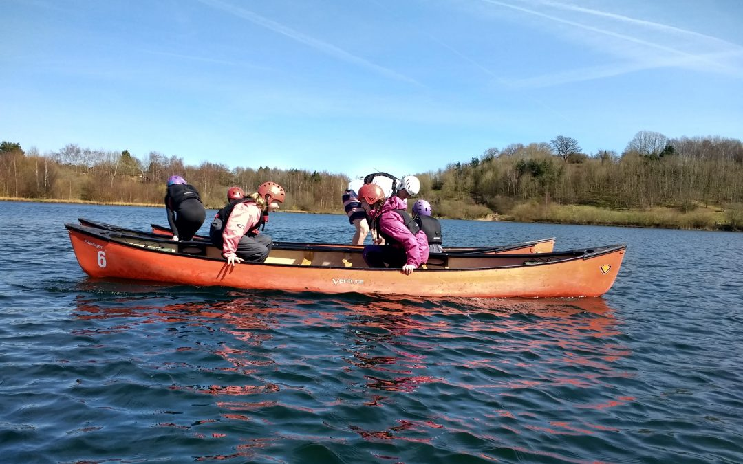Canoe Club at Astbury Water Sports Centre